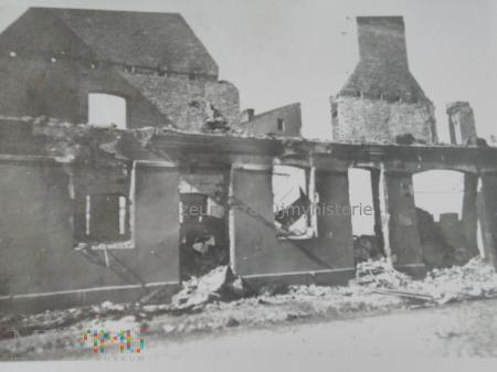 zniszczone domy 1939
