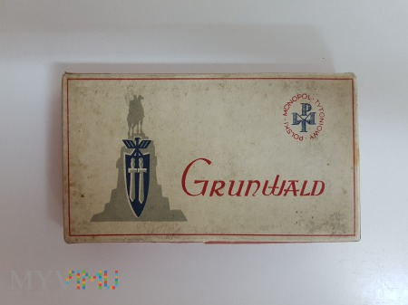 Papierosy Grunwald 25 szt 1933 rok. PMT