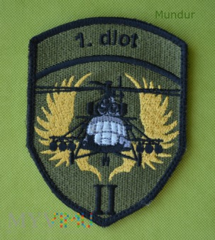 Oznaka: 1 Dywizjon Lotniczy (Mi-8, Mi-17)
