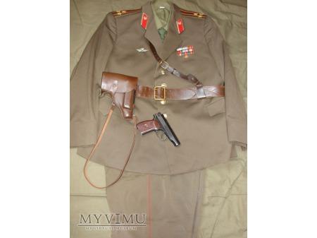 Mundur codzienny pułkownika wojsk zmechanizowanych