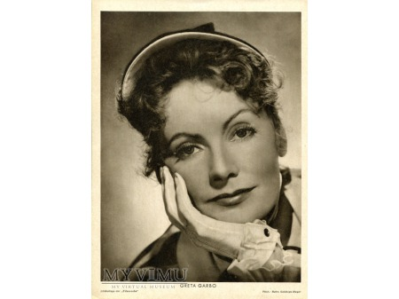 Album luz kartka Marlene Dietrich Greta Garbo 51