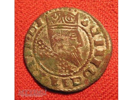 GROSZ KORONNY ZYGMUNTA III WAZY - FALS (1609 ?)