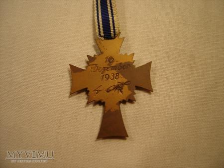 Mutterkreuz 3.stufe in Bronze