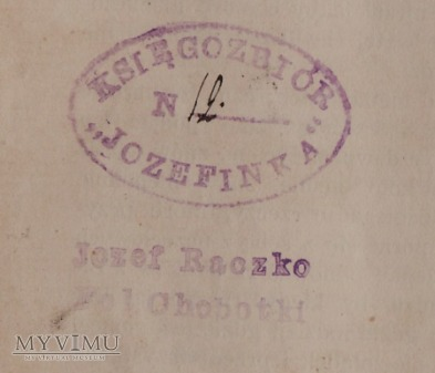 Księgozbiór Józefinka-Folwark Chobotki