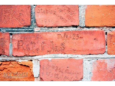 """Duże zdjęcie """"Stara Prochownia"""" - budynek A - inskrypcja #019"""