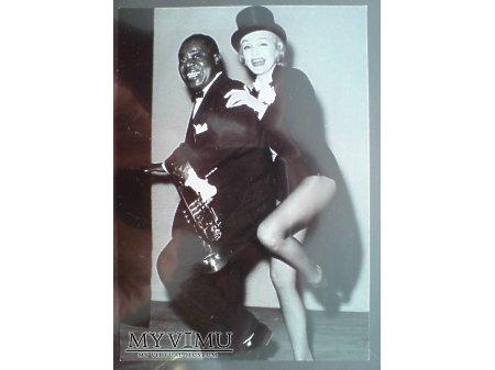 Marlene Dietrich i Louis Armstrong Las Vegas
