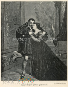 Matejko - Zygmunt August i Barbara Radziwiłłówna