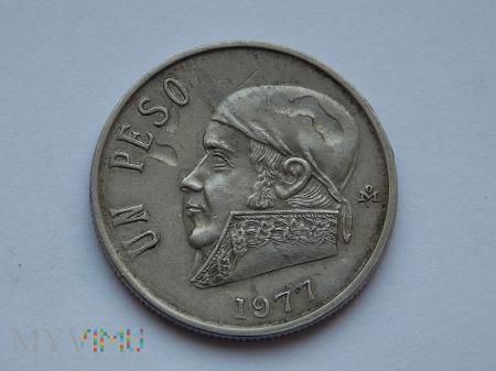 1 PESO 1977 - MEKSYK