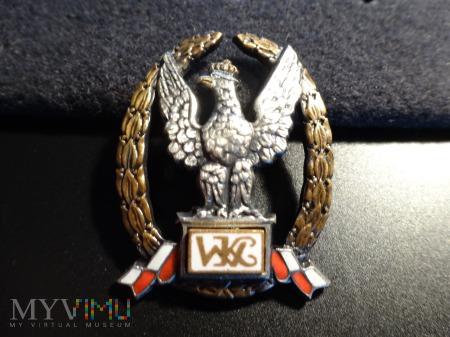Odznaka Wzorowy Kadet ; numerowana