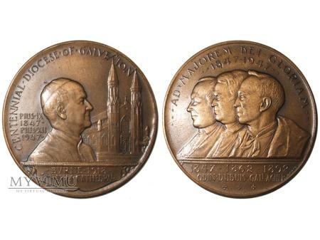 100-lecie Diecezji Galveston medal brązowy 1947