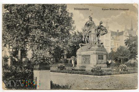 Hildesheim - Kaiser-Wilhelm-Denkmal - 1918