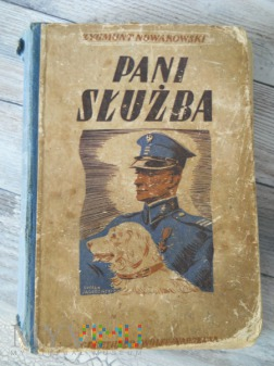 Książka z biblioteki KS Policji Państwowej