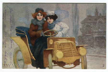 Raphael Kirchner Flashing Motorists Tuck & Sons