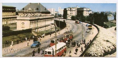 Warszawa - Trasa W-Z (Nowy Zjazd) - 1969 ok.