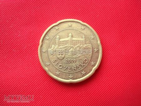 20 euro centów - Słowacja