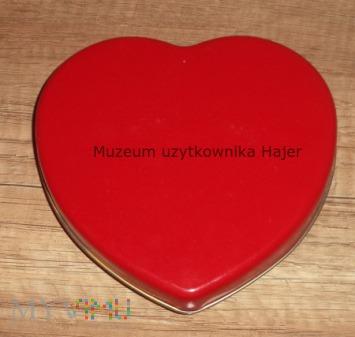 Duże zdjęcie Puszka po słodyczach Serce