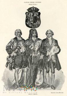 Matejko - Ubiory polskie z XVII w. Król i dwór