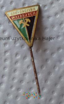 GKS Zagłębie Wałbrzych Odznaka