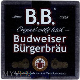 Budweiser burgerbrau