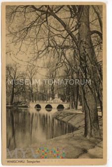 W-wa - pomnik Sobieskiego - lata 40-te