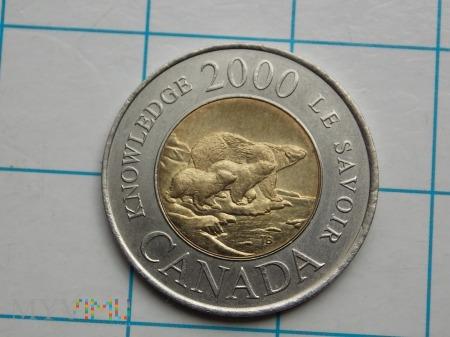 2 DOLARY 2000 - KANADA