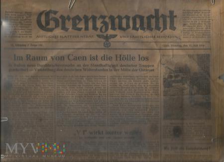 Grenzwacht Amtliches Blatt der NSDAP Folge 160