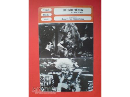 Marlene Dietrich Blonde Venus film 1932 USA