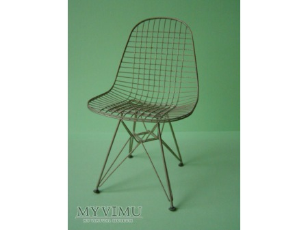 SI 02 DKR Wire Chair