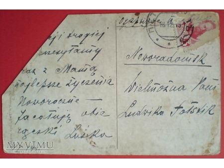 Zabór Rosyjski Piotrków 1914 Józef Rapacki