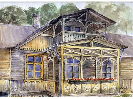 Otwock Architektura drewniana