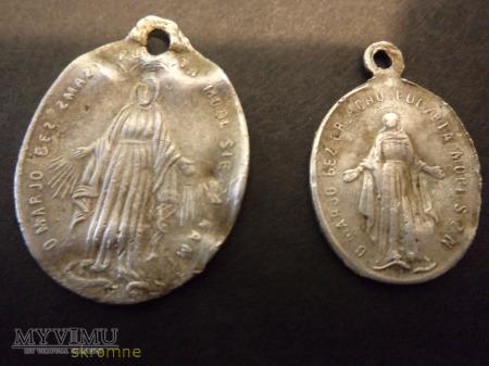Medaliki Niepokalanego Poczęcia NMP