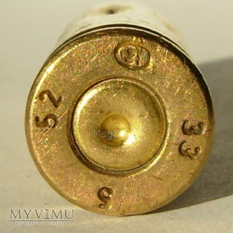 7,62 mm x 25 NABÓJ PISTOLETOWY WZ. 30 SZKOLNY