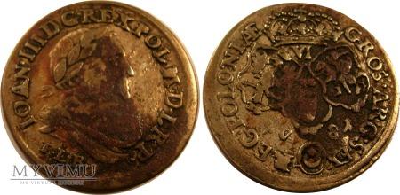 Szóstak Jan III Sobieski 1681