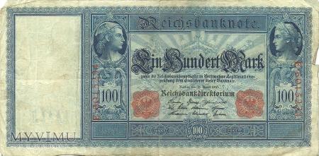 100 Marek 1910 r.