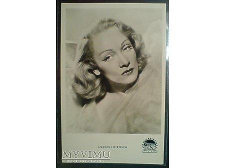 Marlene Dietrich lata 40-te pocztówka foto