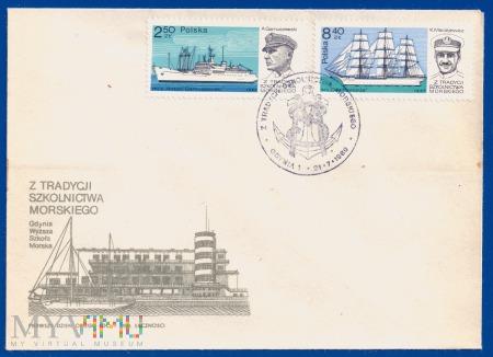 Z tradycji szkolnictwa morskiego.21.7.1980.a