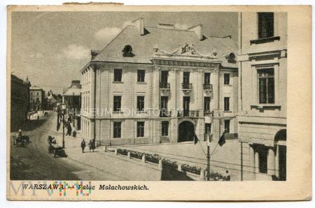 W-wa - ul. Miodowa - Pałac Małachowskich - 1950