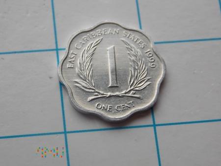 1 CENT 1999 - KARAIBY(ANGLIA)
