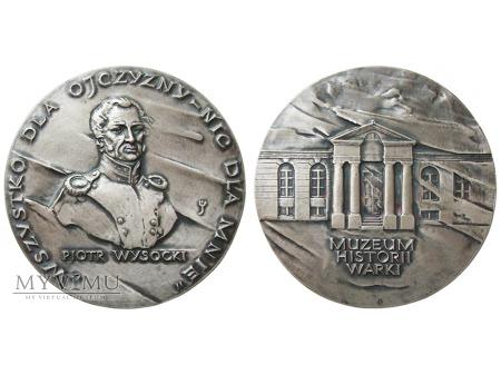 Piotr Wysocki - Muzeum Historii Warki medal 1989