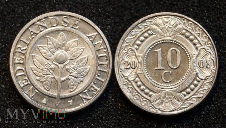 Antyle Holenderskie, 10 Centów 2008