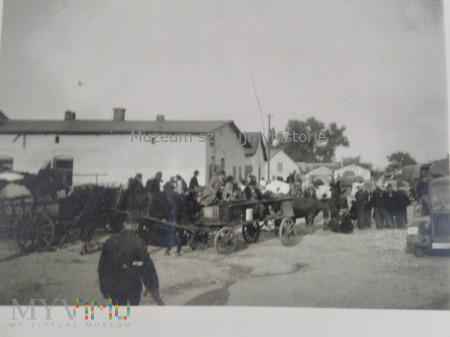 Wehrmacht w polskim miasteczku 1939