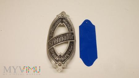 Emblemat aluminiowy Brennabor