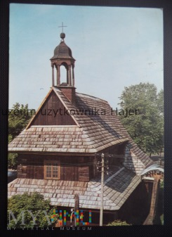 ŁASK-KOLUMNA Kościół z 1666 r.