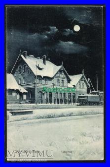 SZLICHTYNGOWA Schlichtingsheim, Dworzec kolejowy
