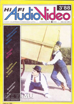 AUDIO Hi-Fi VIDEO 1988 rok, cz.I
