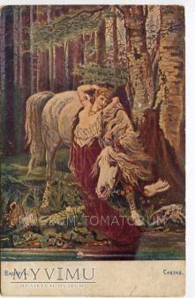 Wichert - Baśń - Akt z koniem