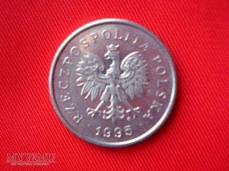 Duże zdjęcie 1 złoty 1995 rok