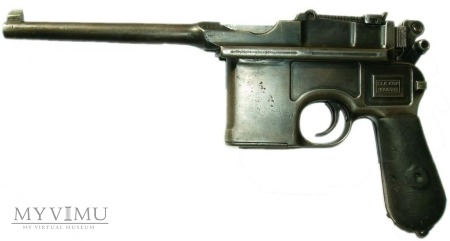 Duże zdjęcie Mauser C96