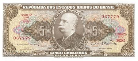 Brazylia - 5 cruzeiros (1964)