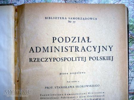 Podział administracyjny Rzeczypospolitej Polskiej